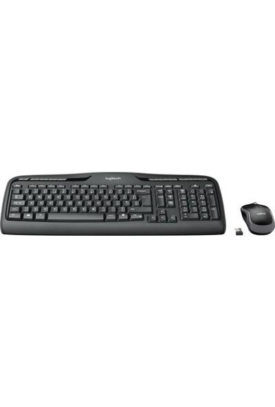 Logitech MK330 Kablosuz Klavye & Mouse Seti-Siyah