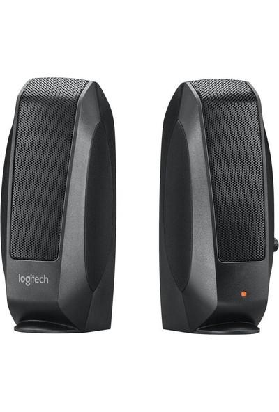 Logitech S120 Hoparlör OEM Kutulu - Siyah