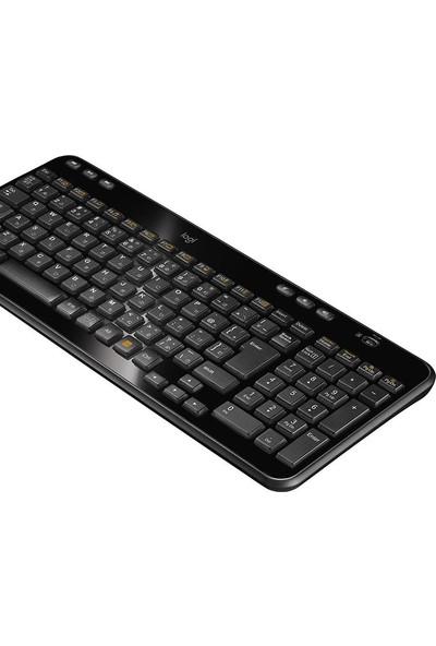 Logitech K360 Kablosuz Klavye-Siyah
