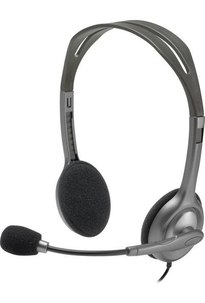 Logitech H110 Stereo Kulaklık-Siyah