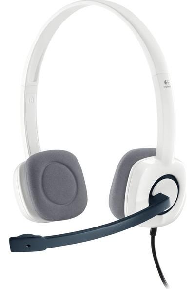 Logitech H150 Stereo Kulaklık-Beyaz