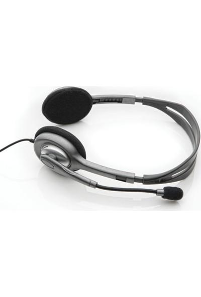 Logitech H111 Stereo Kulaklık-Siyah