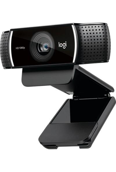 Logitech C922 Profesyonel Yayıncı Webcam-Siyah