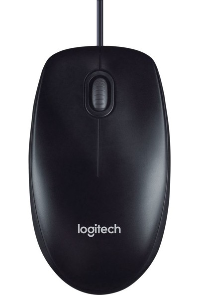 Logitech M100 Optik USB Mouse-Siyah