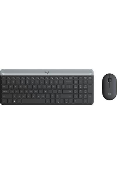 Logitech MK470 Kablosuz Klavye & Mouse Seti-Siyah