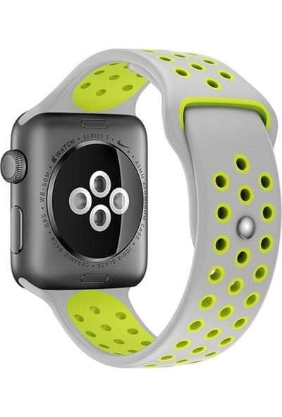 Minesk Apple Watch 42-44MM Silikon Kordon