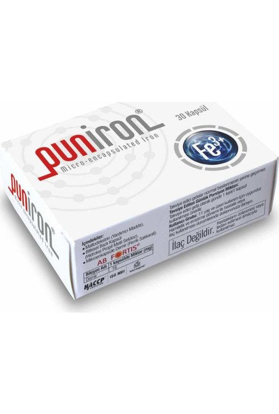 Anti Puniron ® Mikroenkapsüle Demir Minerali