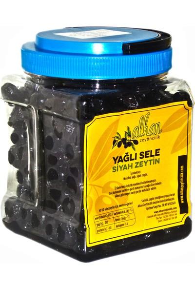 Alhan Zeytincilik Siyah Trilye(Gemlik) Zeytini (1 Kg)