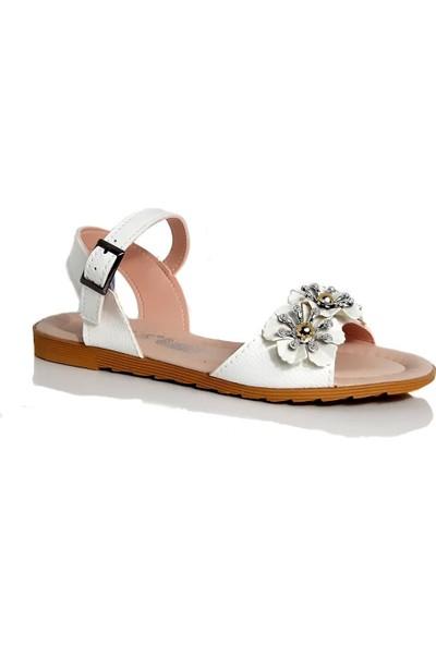 Modafrato PWR001 Kadın Sandalet Yazlık Ayakkabı