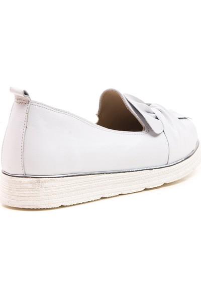 Wave Günlük Kadın Comfort Ayakkabı Beyaz 9606