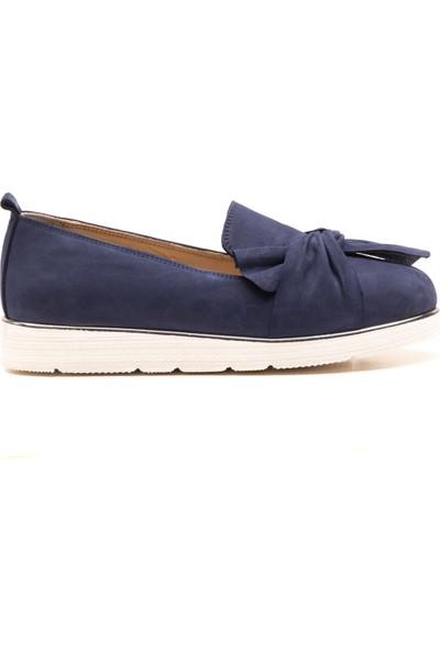 Wave Günlük Kadın Comfort Ayakkabı Lacivert 9606