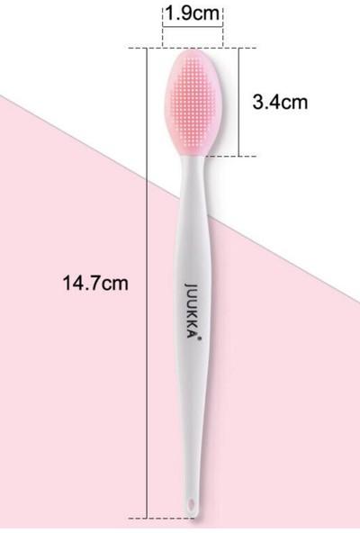 Juukka Siyah Nokta Temizleme Aleti Kore Dudak Şişirme Dolgunlaştırma Peeling Fırçası - Toz Pembe