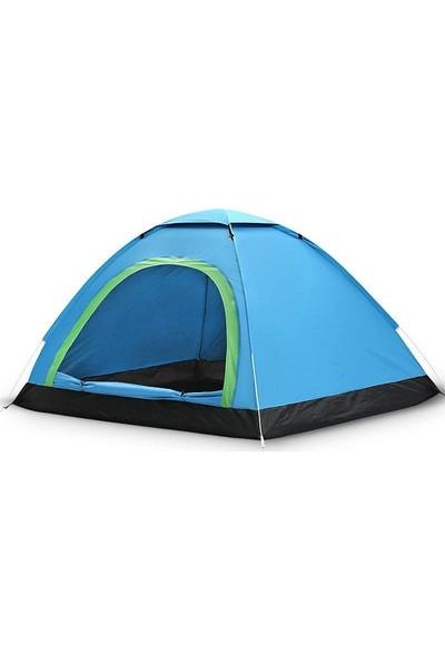 Sezy 8 Kişilik Kamp Çadırı 300 x 220 x 170 cm Çantalı Su Geçirmez