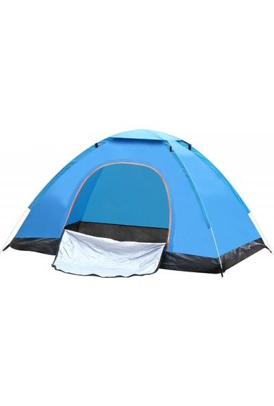 Sezy 10 Kişilik Kamp Çadırı 300 x 300 x 170 cm Su Geçirmez Çantalı