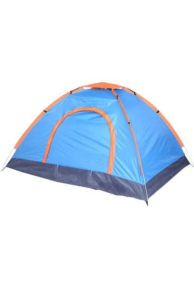 Sezy 3 Kişilik Su Geçirmez Çantalı Kamp Çadırı 200 x 150 x 110 cm