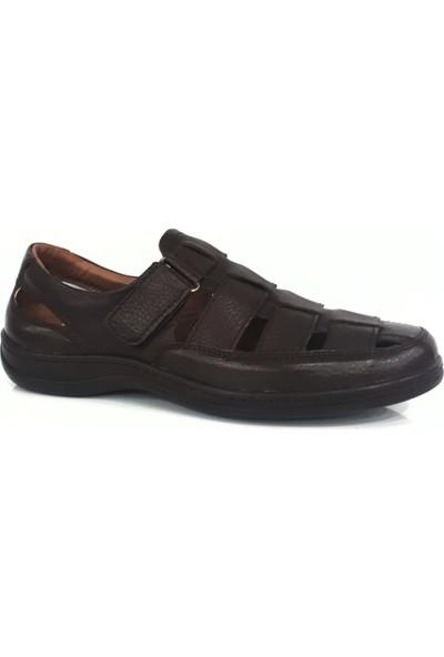 Slope 342141 Erkek Deri Sandalet