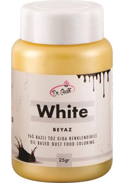 Dr Gusto Toz Yağ Bazlı Gıda Boyası 25 gr Beyaz