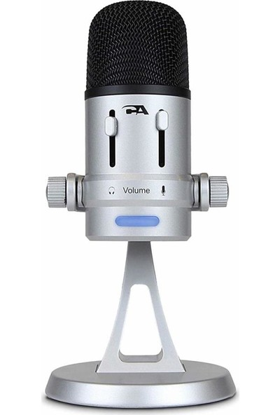 Cyber Acoustics USB Condenser Microphonepc And Mac - 4 Recording Patterns (CVL-2008)