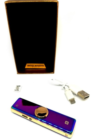 Silvio Monetti USB Şarjlı Çakmak , Stres Çarkı ve USB Çakmak