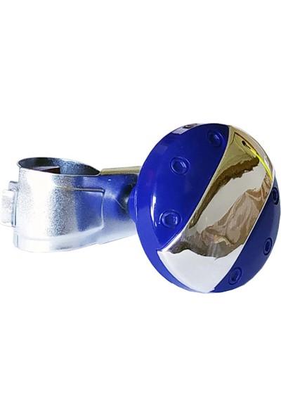 Modacar Direksiyon Çevirme Topuzu Mavi Krom 428550