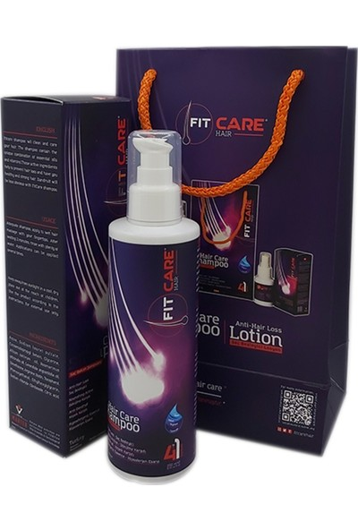 Fitcare Hair Bitkisel Saç Bakım Şampuanı 250 ml
