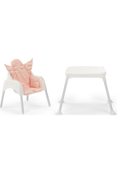 WellGro Angel Çalışma Masalı Mama Sandalyesi - Mint Pedli