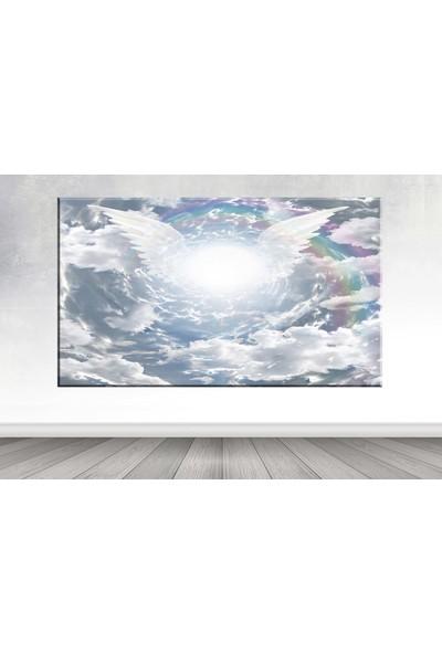 Shop365 Gökyüzü Melek Dev Kanvas Tablo 100x140 cm SB-48291