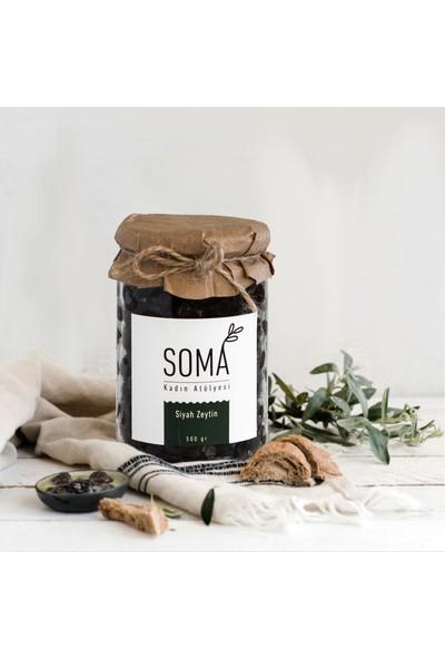 Soma Kadın Atölyesi Siyah Zeytin Boyasız Katkısız - 500 gr