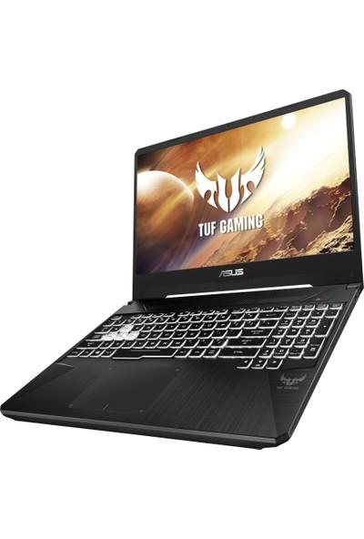 "Asus TUF Gaming FX505DT-BQ180 AMD Ryzen 5 3550H 8GB 256GB SSD GTX1650 Freedos 15.6"" FHD Taşınabilir Bilgisayar"