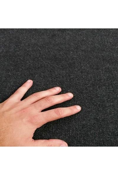 Ism Rip Duvardan Duvara Halıfleks Koyu Gri 50 x 200 cm