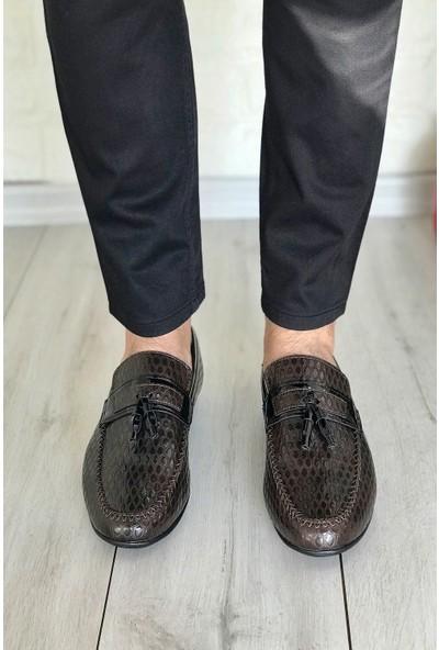 Conpax 118 Kahverengi Rugan Erkek Casual Ayakkabı