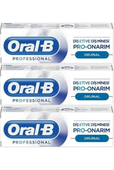 Oral-B Pro-Onarım Diş Macunu 3 x 50 ml