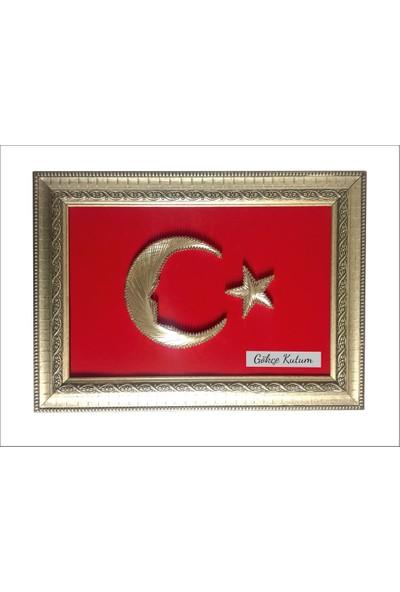 Dora Promosyon Atatürk Silüet Türk Bayrağı Filografi