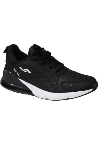 Jump 24883 Siyah-Beyaz Anatomik (40-45) Erkek Spor Ayakkabı