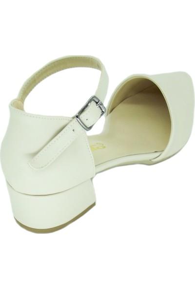 Punto 456047 Kadın Kalın Topuk Aykakkabı