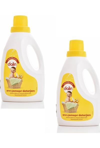 Dalin Sıvı Deterjan 1500 ml (2 Adet) + Bahar Ninnisi Çamaşır Yumuşatıcısı 1500 ml (2 Adet)
