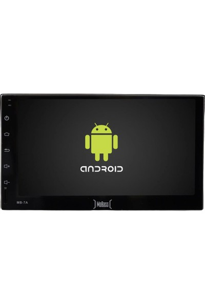 "Mobass MB-7A 7"" Android Double Dın Wifi/Bluetooth 2020"