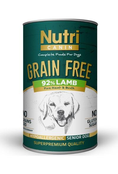 Nutri Canin Senior Lamb Kuzulu Yaşlı Köpek Maması 6 x 400 gr ve Dognip-Papyon