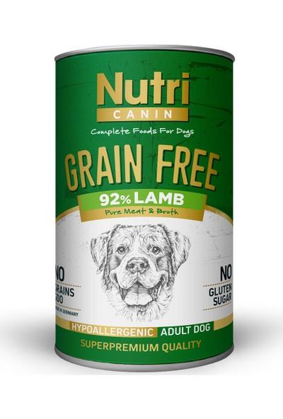Nutri Canin Tahılsız %92 Kuzu Etli Köpek Konservesi 6 x 400 gr ve Dognip-Papyon