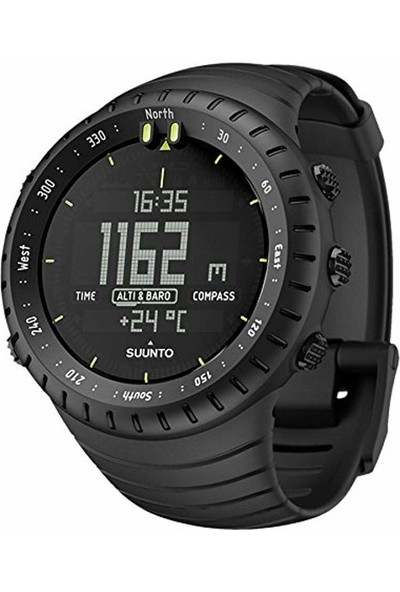 Suunto Core Outdoor Siyah Spor Saat - SS014279010 (Yurt Dışından)