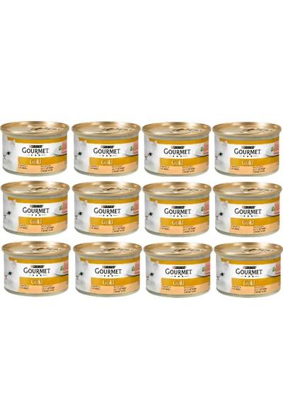 Proplan Gourmet Gold Kıyılmış Hindili Kedi Konservesi 85 gr x 12 Adet
