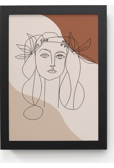 Value Design Çizgisel Picasso Duvar Tablosu