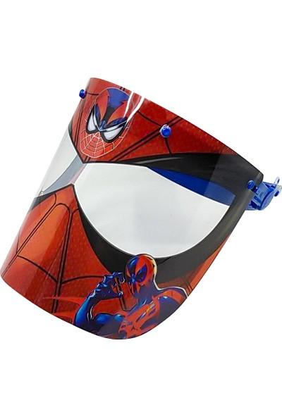 Moots Spiderman Erkek Çocuk Yüz Siperlik Koruma