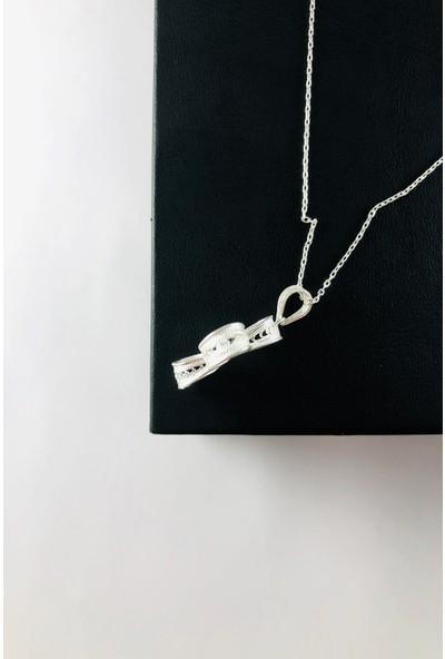 Sungurbey Gümüş Dünyası El Sanatı Telkari Gümüş Bayan Kolye Ucu
