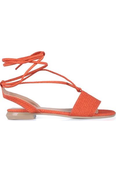Oblavion Kadın Judy Turuncu Sandalet