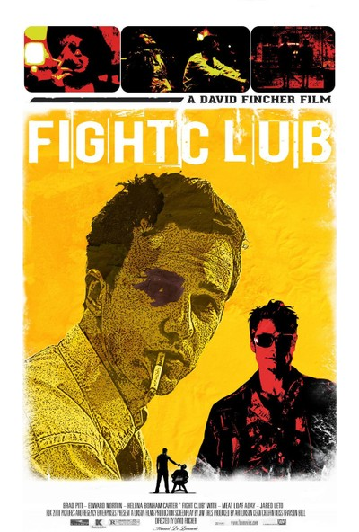 Fight Clup Film Afişi -Dövüş Kulübü Filmi Posteri