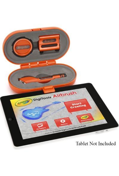 Crayola Digitools Air Brush Tablet Boyama Paketi Aksesuarları