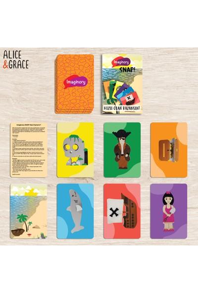 Alice & Grace Imaginory Snap! Kart Oyunu - Korsan Temalı Kartlar