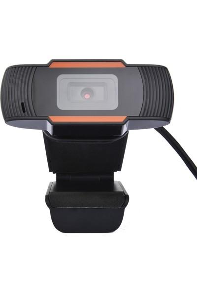 Buyfun A870 USB Webcam 480 P Web-Kamera Dahili Ses Çevrimiçi (Yurt Dışından)
