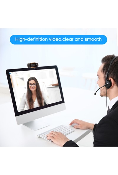 Buyfun C3 Webcam 720 P Yüksek Çözünürlüklü USB Web Kamera (Yurt Dışından)
